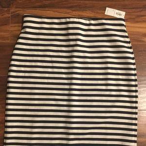 NWT Women's Old Navy Striped Skirt sz S